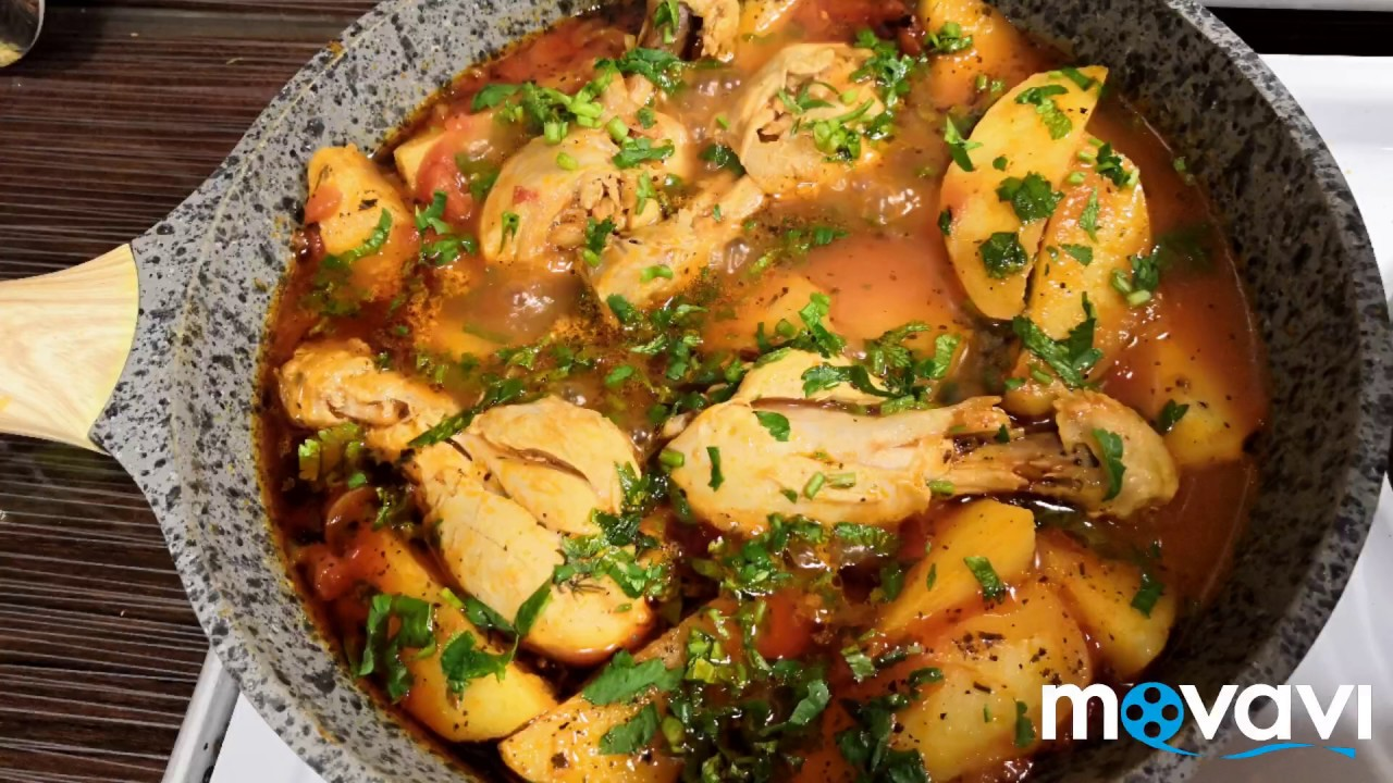 Курица с картофелем / Куриный соус / Irinochka HandMade