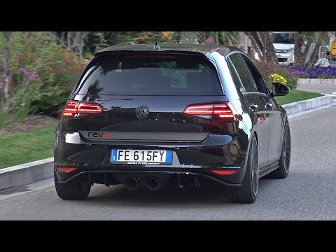 Volkswagen Golf 7 GTI Brill Steel REVO Exhaust Sounds!