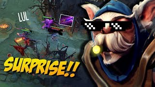 INVISIBLE MEEPO! - Shadow Blade Meepo New Meta by Ace 7.10   Dota 2