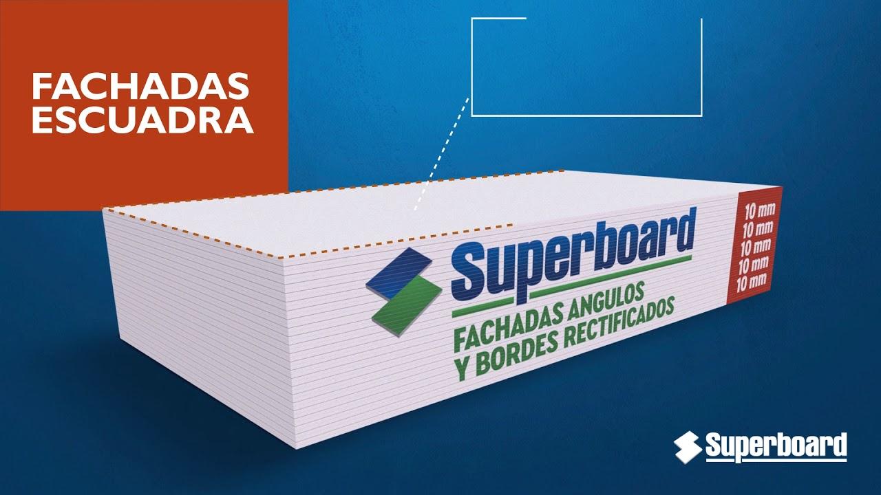 Placa Superboard Aplicación Fachadas Escuadra