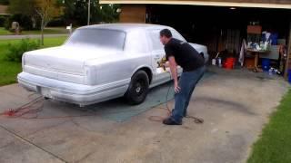 Plasti Dip 94 Lincoln Town car