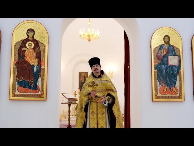 Проповедь отца Александра в воскресный день 25.07.2021