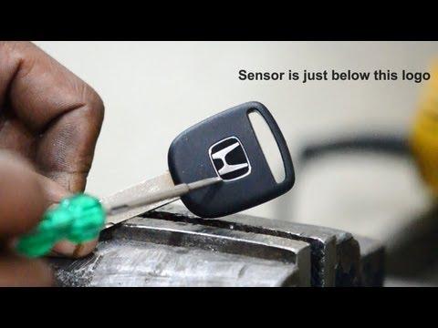 Extract Sensor from Honda Key