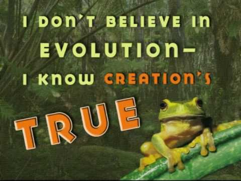"""I Don't Believe in Evolution"" BUDDY DAVIS Sing-Along Video"