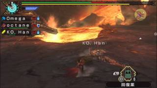 Monster Hunter P3rd HD - 8★ Online Quest: Roar of the Black Tiger