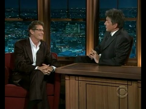 Late Late Show with Craig Ferguson 6/23/2008 David Hasselhoff, Miriam Shor, Amos Lee
