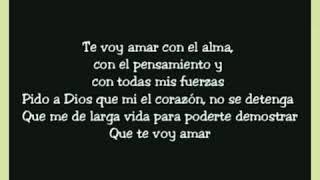 Te voy amar-Jonathan Moly (Letra) Versión salsa 2019