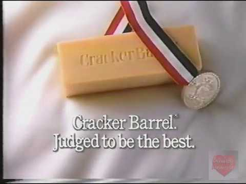 Cracker Barrel Cheese Television Commercial 1989