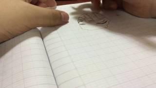 Drawing cyborg cyrax ( MORTAL KOMBAT)