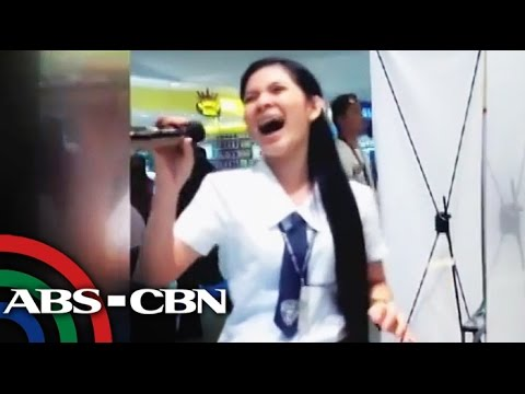 Bandila: Davaoeña student belts out 'Through The Fire,' goes viral