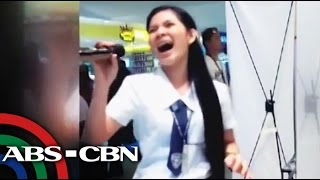 Davaoeña student belts out 'Through The Fire,' goes viral