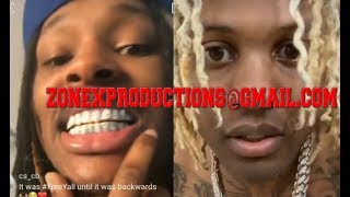 "Chiraq Rapper King Von calls Lil durk b*tch nigga for blamin the sh00tin on him""i aint cool wit him"""