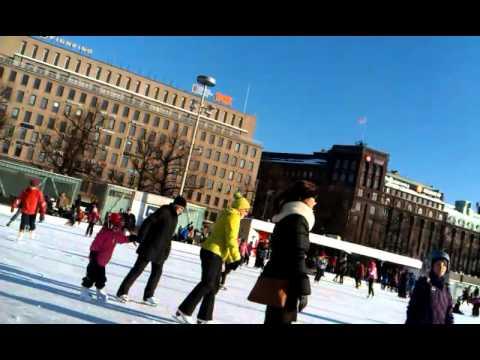 Winter in Helsinki Finland