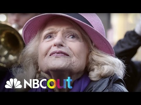 Activist Edith Windsor Fights New Battle For LGBTQ Rights | NBC Out