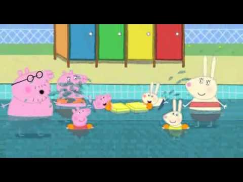 Peppa Pig Swimming Viyoutube