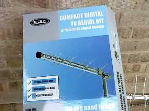 Megaboost Digital TV Freeview Aerial in Corsham Wilts UK