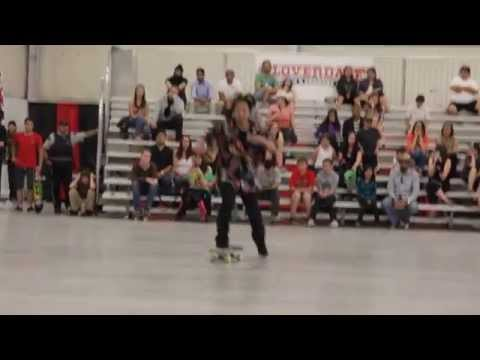 2014 World Skateboarding Championship Freestyle (4613)
