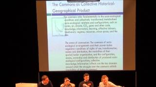 The Commons: From Primitive Accumulation to Communism