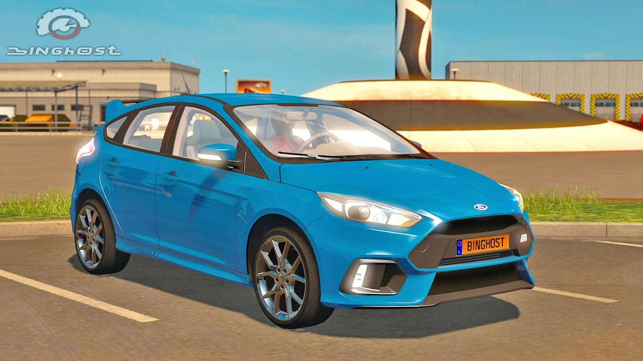 ford focus rs ets2 euro truck simulator 2 youtube. Black Bedroom Furniture Sets. Home Design Ideas