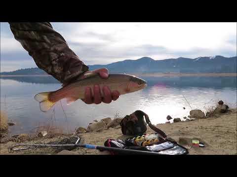 Big Bear Lake NYE Fishin' Trip 2017-2018