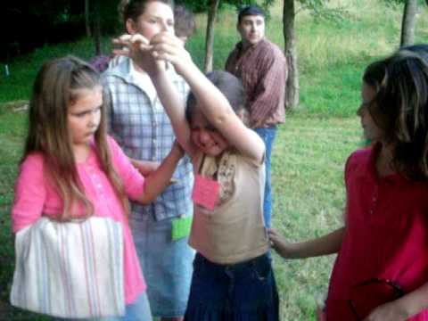 Little Girl At Sunday School Camp In 2009 Getting The Holy Ghost......