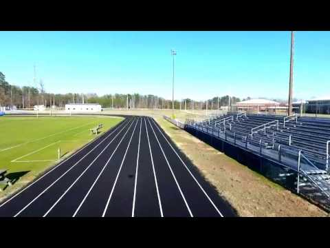 New Kent High School by Drone