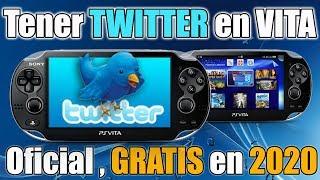 Twitter en PSVITA Oficial y GRATIS en 2020