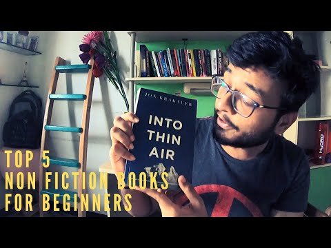 Best Non-Fiction books to read for beginners || Book Recommendation || Top 5 Non fiction Books
