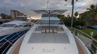 2016 Azimut 84 Flybridge For Sale at MarineMax Pompano Yacht Center