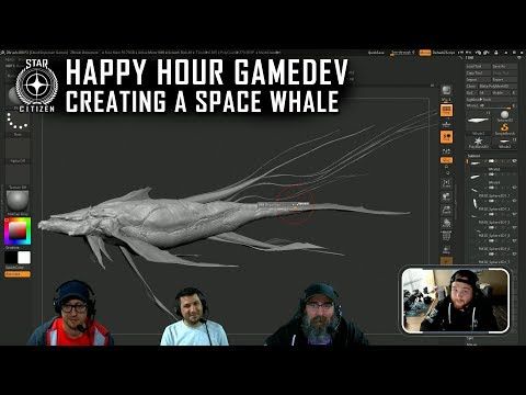Happy Hour Gamedev: Creating a Space Whale