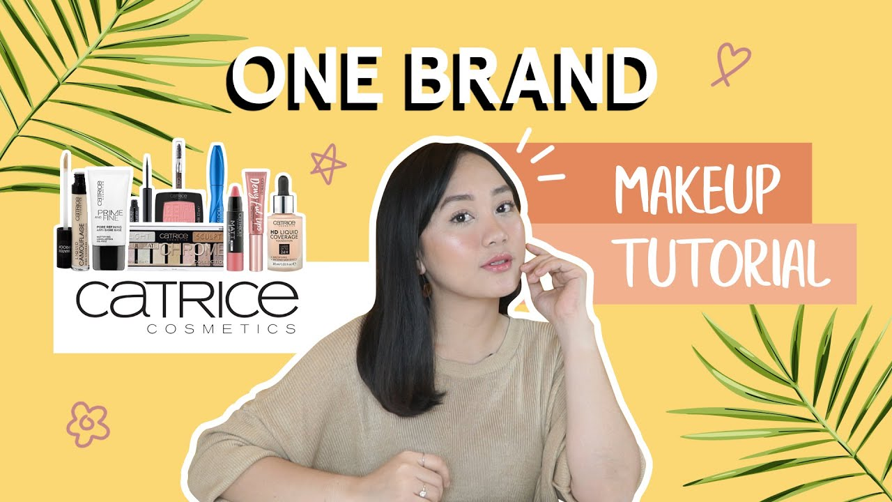 One Brand Makeup Tutorial with Rara Rahma || Summer Review