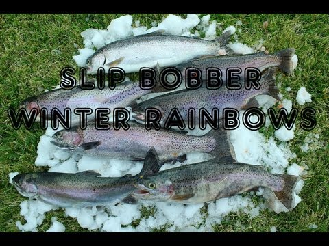 Big Bear Lake Fishing - How To Use A Slip Bobber For Suspended Rainbow Trout