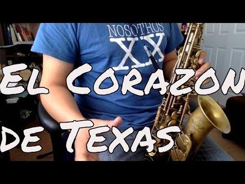 El Corazon de Texas Conjunto Rio Grande Saxofon