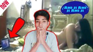 Ami jee, ami ji    reaction to youtuber Vivek   Ami ji virl video, roast of Ami ji, full video link