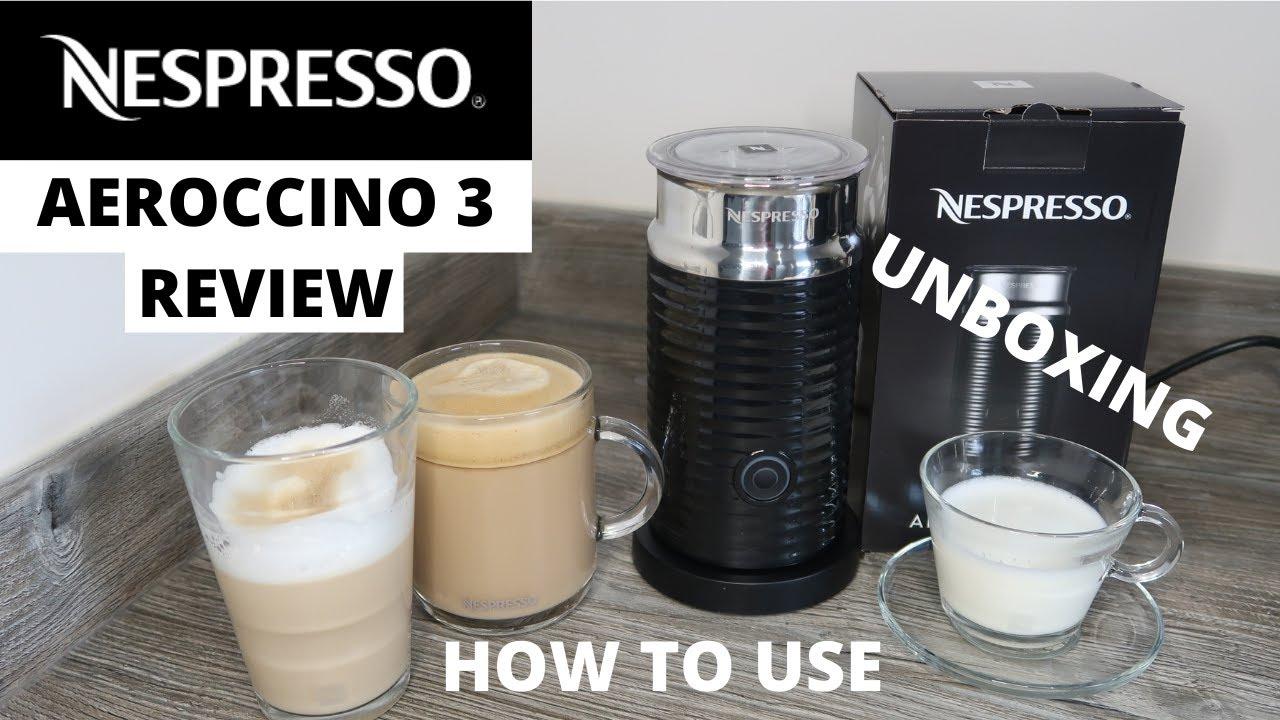 Nespresso Aeroccino 3 First use