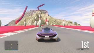 Grand Theft Auto V World Record Premium Race Chiliad 100k win