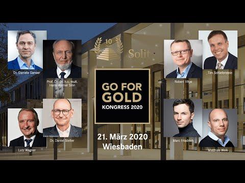 Der ???? SOLIT Go for Gold-Wertekongress 2020 ???? : Erleben Sie Experten der Weltwirtschaft LIVE!