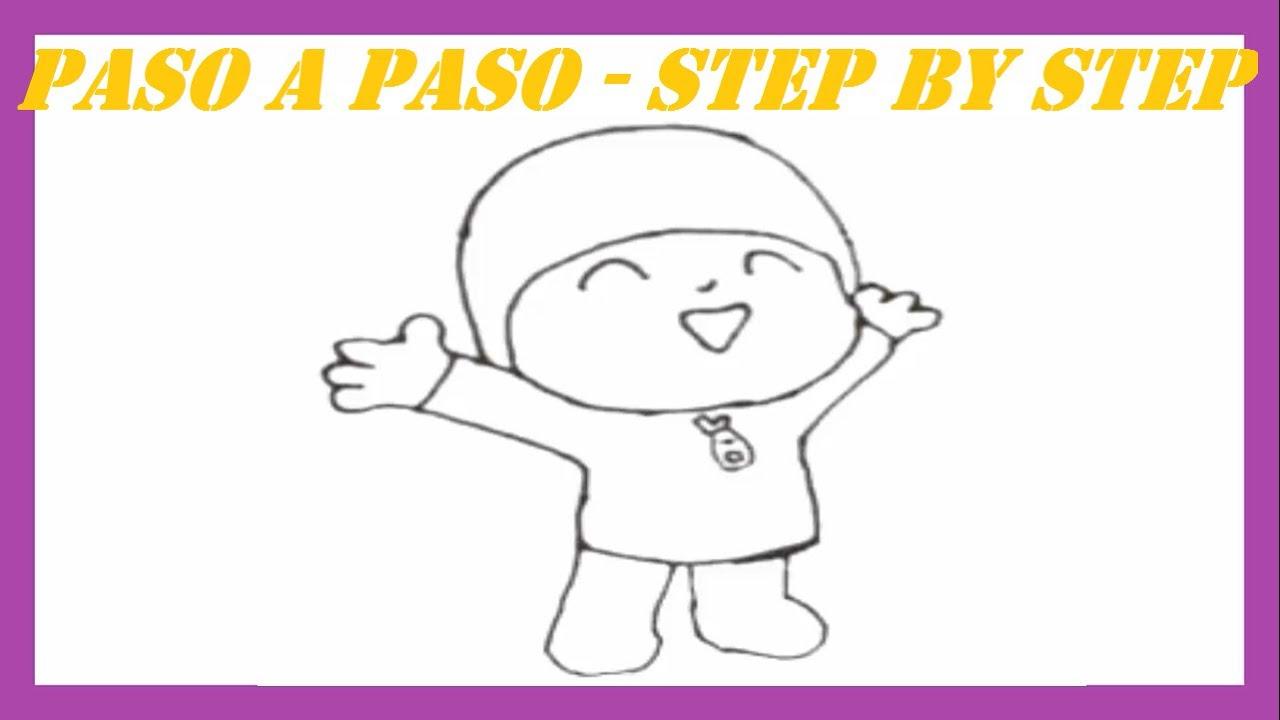 Como dibujar a Pocoyo l How to draw Pocoyo - YouTube