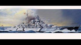 Tamiya 1/350 Battleship Bismarck - Update 2