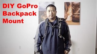 DIY GoPro Backpack Mount