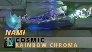Cosmic Nami Rainbow Chroma - League Of Legends