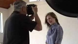 photo shoot with Merlie Leymann
