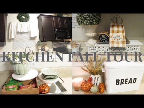 FALL KITCHEN TOUR & UPDATES 18' ~ Rustic Chic