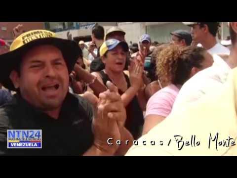 Sonidos del firmazoen Venezuela contra Nicolás Maduro