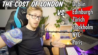 The Cost of London VS International Cities