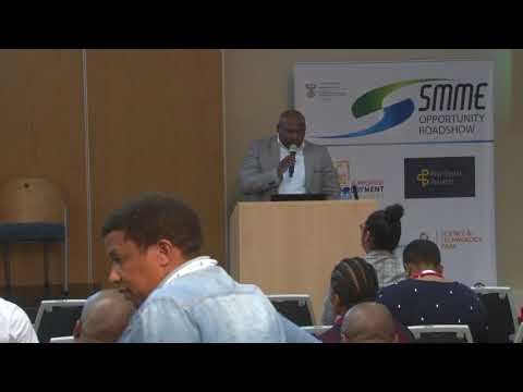 Ntando Mbonambi, Federated Employers Mutual Assurance at Opportunity SMME Roadshow East London 2018