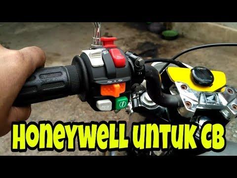 Review holder Honeywell di Honda CB