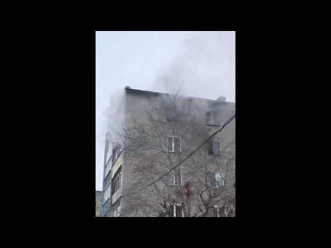 #3 Пожар во 2-м доме 11-го квартала. 26.01.2020