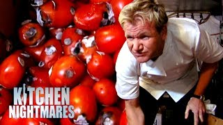 EMBARRASSING Restaurant is Full of Moldy Rotten Food | Kitchen Nightmares