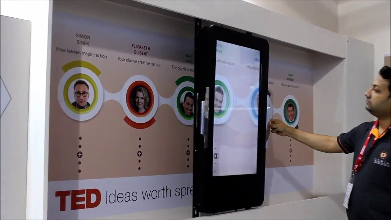 Sliding Screen Augmented Reality